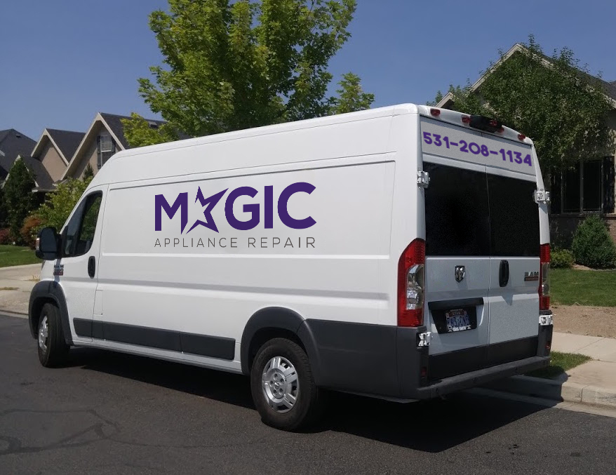 magic appliance repair van